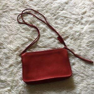 Vintage Coach Convertible Clutch Shoulder Bag
